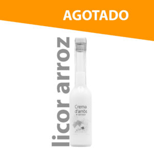 licor de arroz agotado