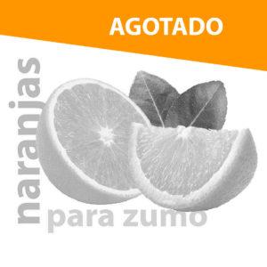 naranjas zumo agotadas