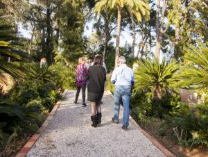 Tour por los jardines del Huerto Ribera