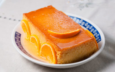 3 Recetas de postres con naranja