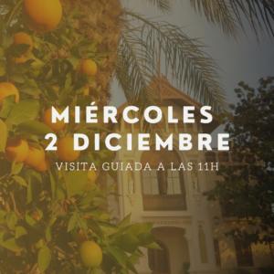 visita guiada 2 diciembre huerto ribera naranjas