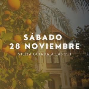 visita guiada 28 noviembre huerto ribera naranjas