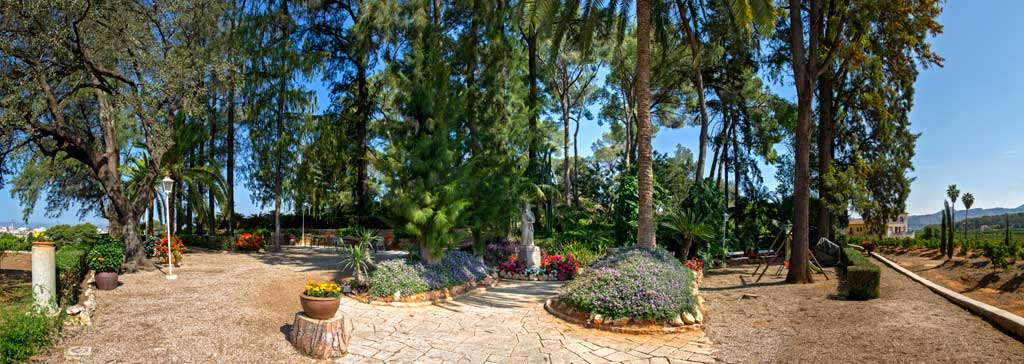 paseo jardines huerto ribera